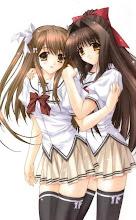 我与樱樱。