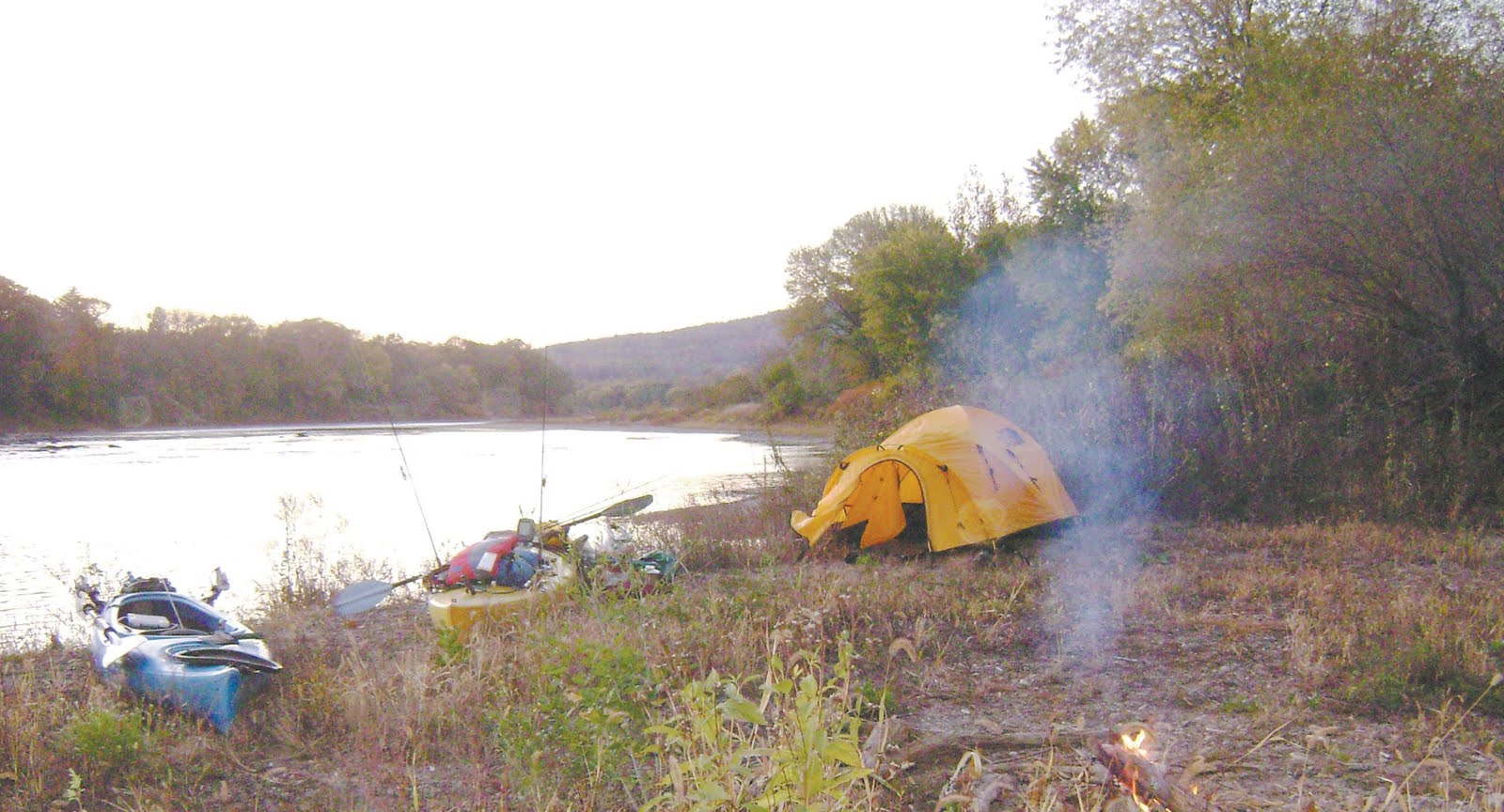 Kayak fishing camping the north for Campsites with fishing