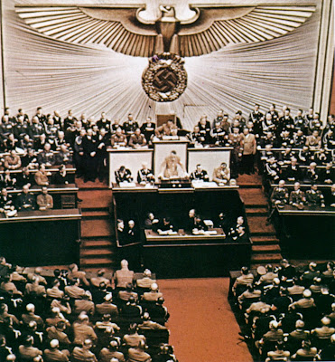 a history of adolf hitlers speech of october 6 1939 to the reichstag in nazi germany Political views of adolf hitler the family in nazi germany) so great was hitler's influence in is the quote from the 30 january 1939 reichstag speech.
