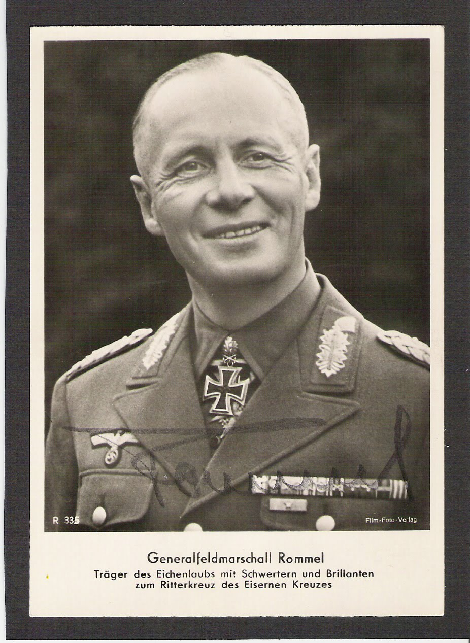 a biography of field marshall erwin rommel Anti-semitism biography history holocaust israel field marshal heinz guderian, rommel is obsessed with field marshal erwin rommel.