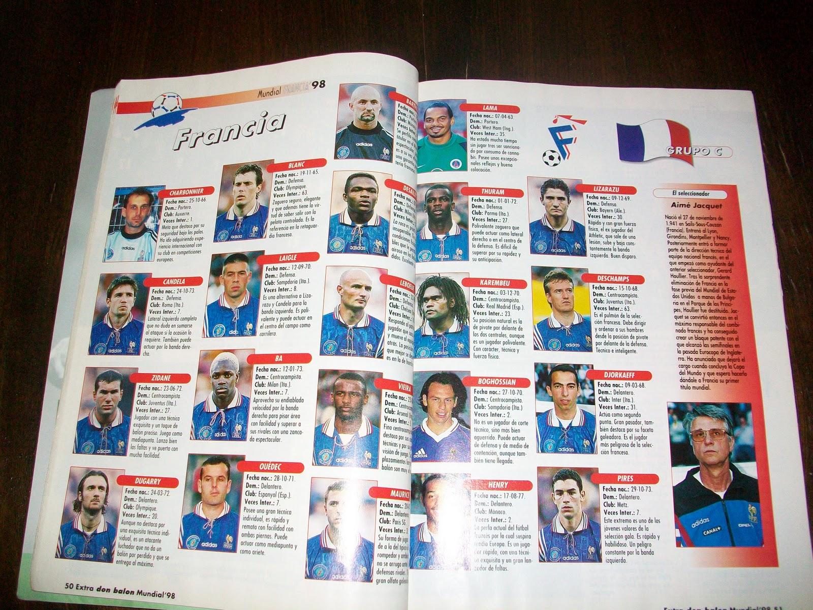 Extra Revista Don Balon - Euro 96 Eurocopa 1996 - Año XXII Nº32 - LEER Estado