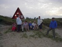 Pinsefest i Øster Hurup og en strandtur 14.07.2002