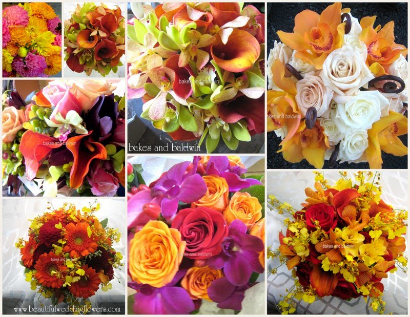 Ct Wedding Florist Autumn Wedding Bouquets