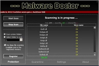 Fake computer antispyware software