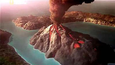 ΘΗΡΑ 1613 π.Χ.: Η μεγαλύτερη έκρηξη ηφαιστείου που γνώρισε η Ανθρωπότητα  Sant