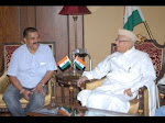 Meeting with Ex governer Andhra Shri ND Tewariji