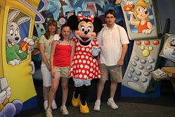 family shot At disneyworld