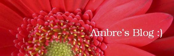 Ambre's Blog :)