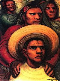 três muralistas