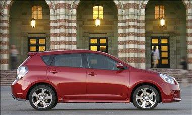 New for 2010 Pontiac Vibe