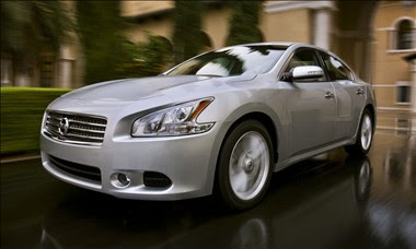 New for 2009 Nissan Maxima