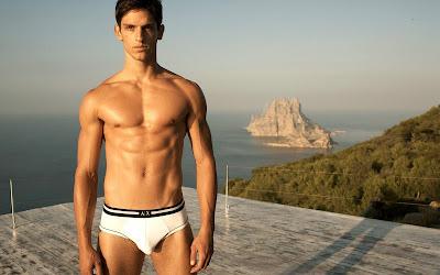 Sexy Underwear Model Miro Moreira
