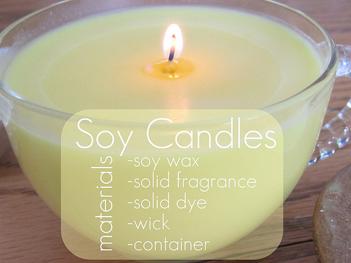 how to make candles out of leftover wax