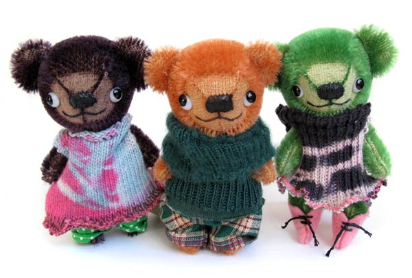master teddy miniature bears