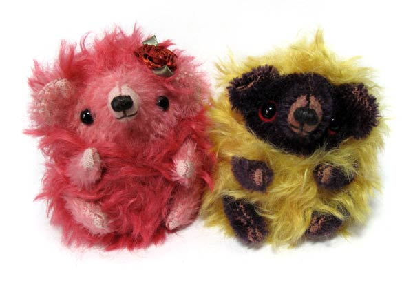 mohair hedgehogs