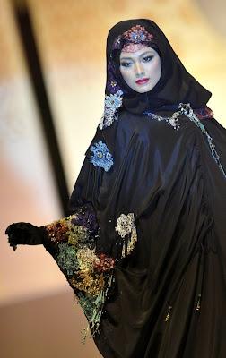 melinda looi - Islamic Fashion Festival 2009