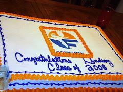 Lindsay's Graduation Cake 7/08