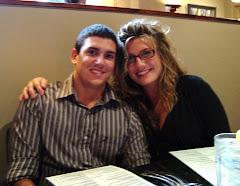 Kyle & Sarah at Graduation Dinner