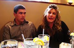 Kyle & Sarah at Grad Dinner