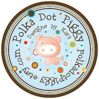 polka dot piggy party
