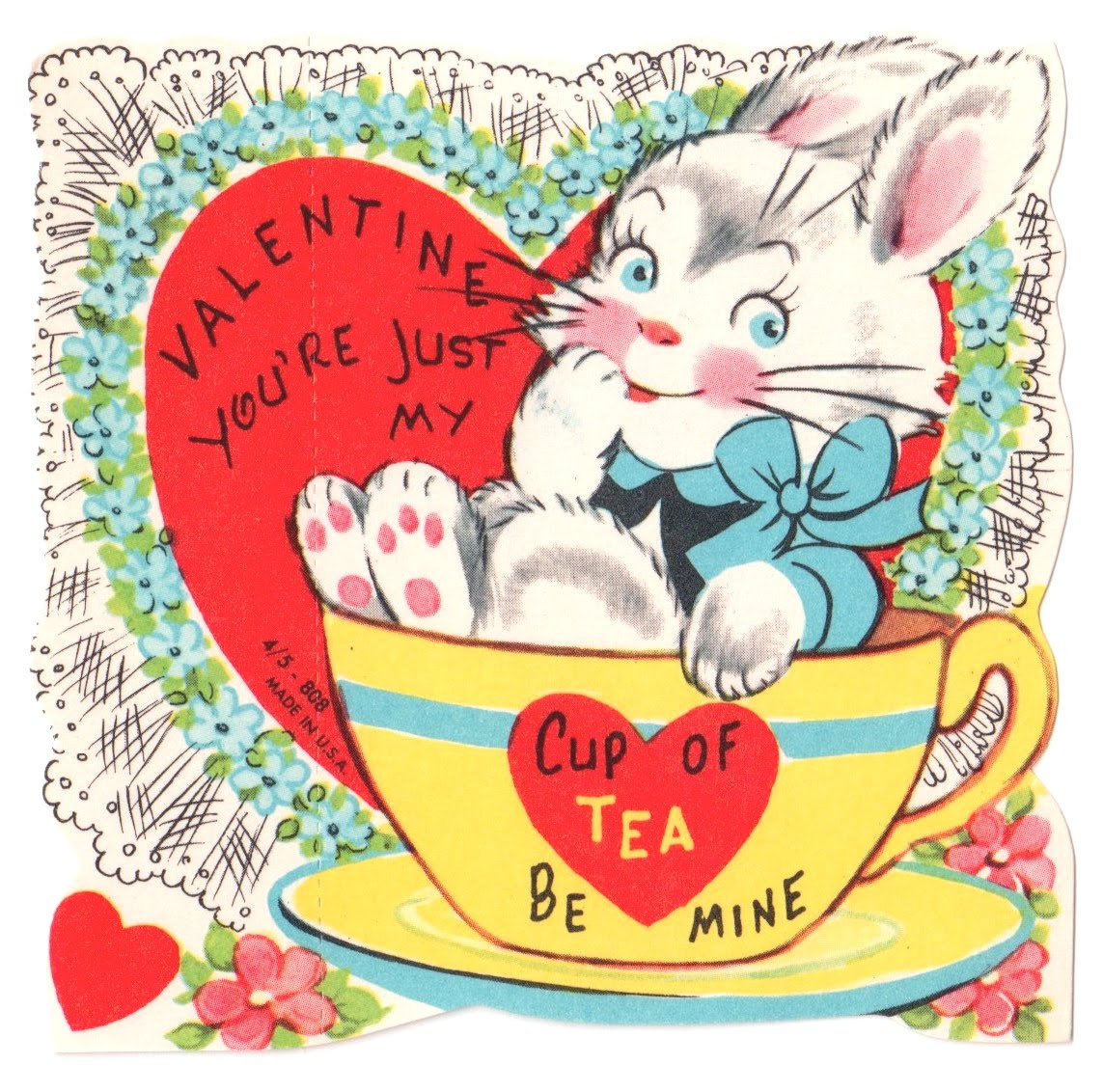 Itu0027s One Week Until My Favorite Holiday, Valentineu0027s Day, And Here At Tea  With Friends Weu0027ll Be Celebrating All Week Long. Once Again Iu0027ll Be Posting  A ...