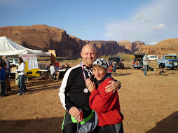 John &amp; Beth at the Finish Line