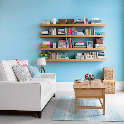 Get it girl style ikea floating shelves - Small bookcases for small spaces design ...