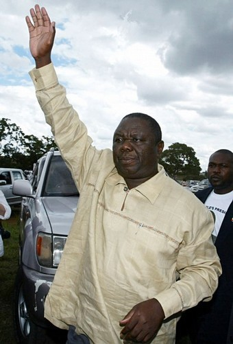 THE EXECUTIVE PRESIDENT, MR M R TSVANGIRAI!