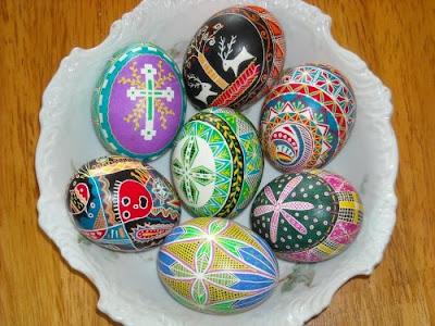 Come decorare le uova di pasqua idee ucraine pane - Decorare uova di pasqua ...