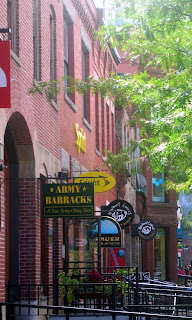 Boston's Newbury Street