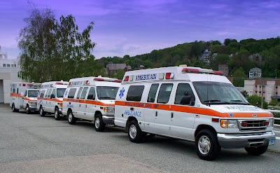 American Ambulance Service, Inc. ambulances
