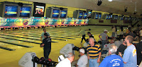 exercise at bowling league