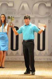 86c3a54b3e El Pigu Romero Deportista del año en Tucuman