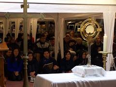 il gruppo giovani a Roma