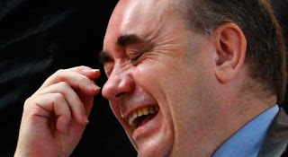 Alex Salmond Laughing