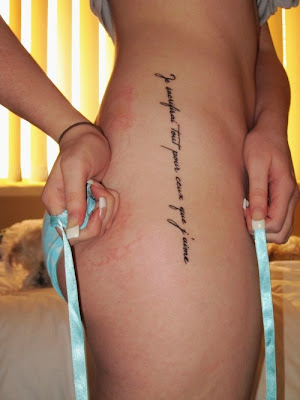 Labels Letter Tattoo Style