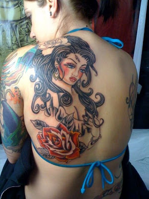 geisha tattoo designs. Geisha Tattoo