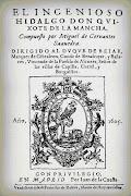 El Quijote, de M. de Cervantes