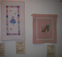 little girl applique and applique shoe quilts