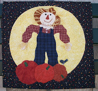Scarecrow quilt from Connie