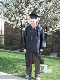 JJ in cap and gown
