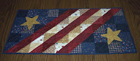 Patriotic Tablerunner from early in July