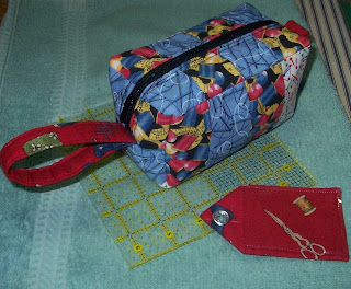 treasure box bag - similar in shape to a toiletry bag