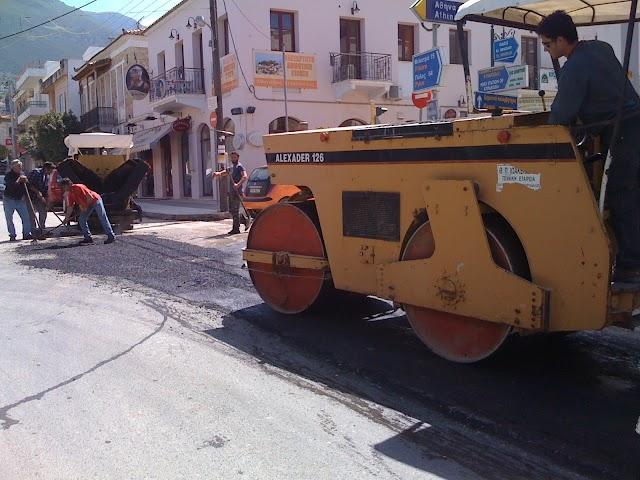 Παρεμβάσεις του Δήμου στην Ελ. Βενιζελου