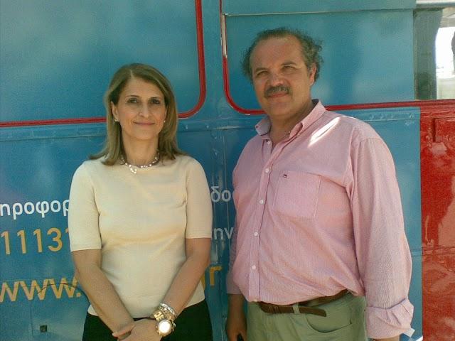 Ενημερωτικό δρομολόγιο για το Α.Μ.Κ.Α. στη Κυπαρισσία