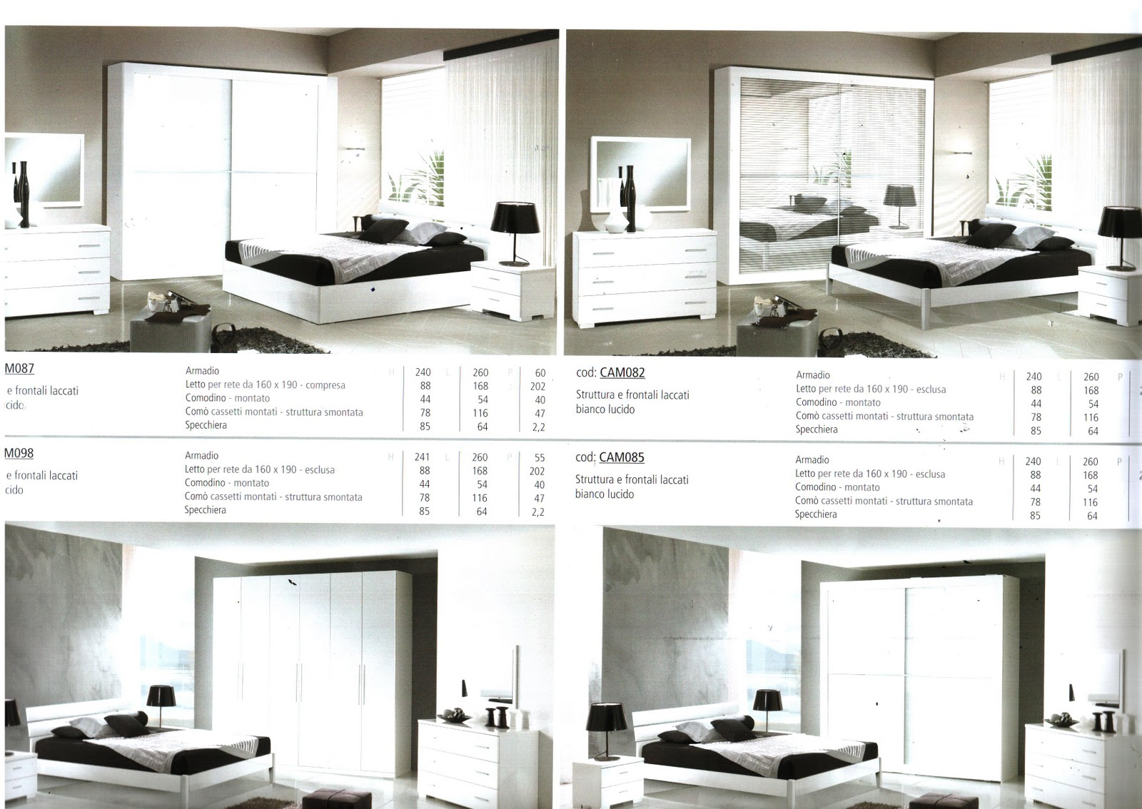 Euro arredo camere da letto for Camere da letto complete a 500 euro