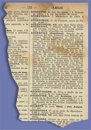 Argentina en un diccionario de 1919