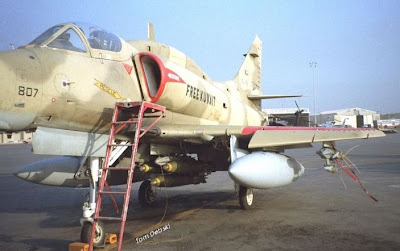 A-4KU loaded-ready for mission