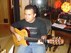 Gabriel ,em estúdio