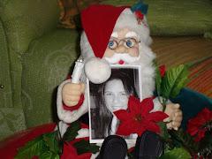 Mariana não estava conosco no Natal,
